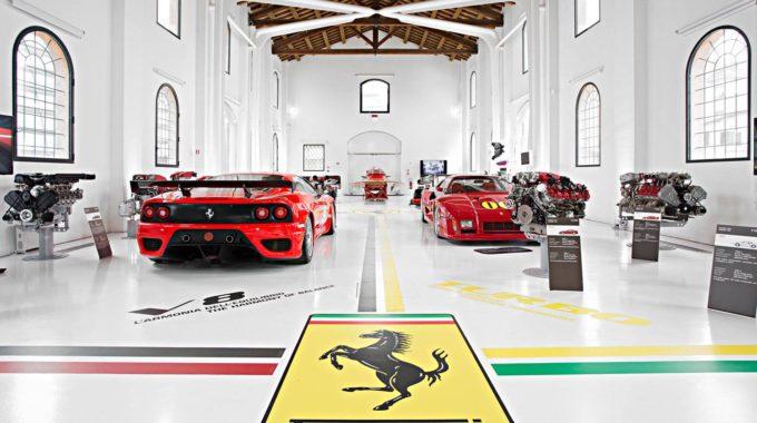 Lamborghini Un Ferrari Muzeji